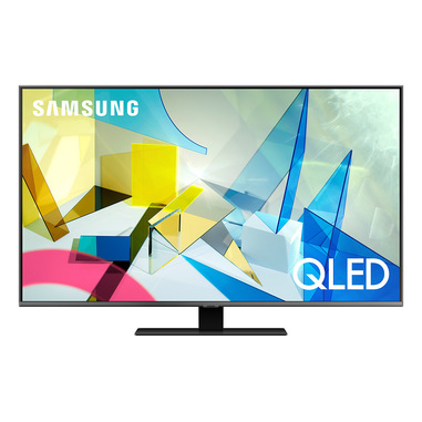 "Samsung Series 8 QE49Q80TAT 124,5 cm (49"") 4K Ultra HD Smart TV Wi-Fi Nero, Argento"