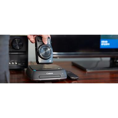 Canon Connect Station CS100 Sistema di Archiviazione Immagini, Hard Disk Interno 1 TB, Memorizzazione su Cloud, Nero