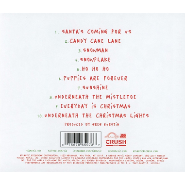 Everyday is Christmas, CD