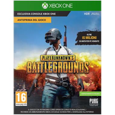 PlayerUnknown's Battlegrounds (download) - Xbox One