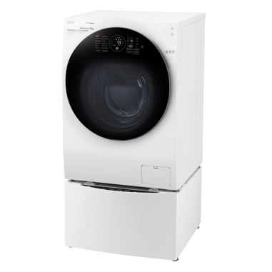 LG TWINWash FH4G1BCS2 Libera installazione Carica frontale 12kg 1400Giri/min A+++-60% + Mini Wash F8K5XN3 2 kg