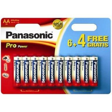 Panasonic Pro Power 6+4 Alcaline LR6PPG/10BW