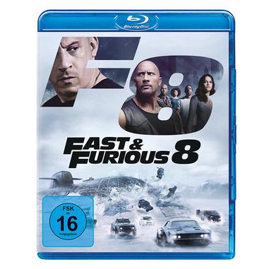 Fast & Furious 8, Blu-ray 2D ITA