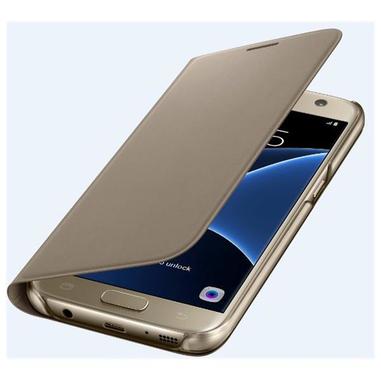 Samsung FLIP Wallet Galaxy S7 Foglio Oro