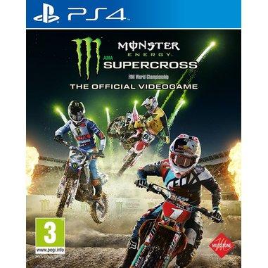 The Official Monster Energy Supercross - PS4
