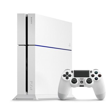 PS4 500GB C Chassis bianca (Ricondizionato Certificato)