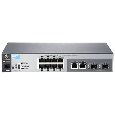 Aruba, a Hewlett Packard Enterprise company 2530-8G Gestito L2 Gigabit Ethernet (10/100/1000) Grigio 1U