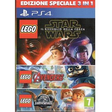 LEGO collezione 3 giochi - PS4