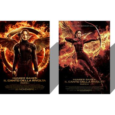 Hunger games: il canto della vittoria 1 e 2 (DVD)