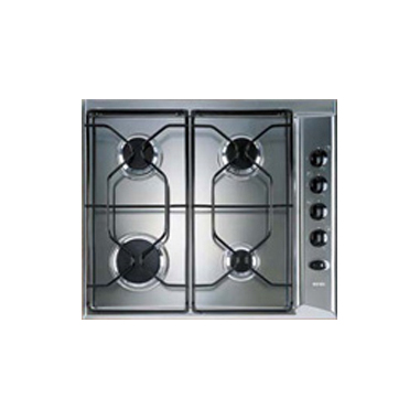 Ignis AKL 710/IX piano cottura Argento Incorporato Gas 4 Fornello(i)