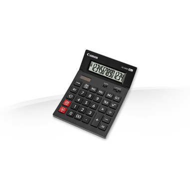Canon AS-2400 calcolatrice con display Nero