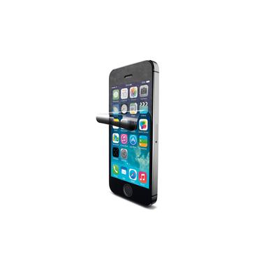 Cellularline Ok Display Antibact - iPhone 5S/5C/5 Pellicola protettiva che protegge da graffi e batteri Trasparente