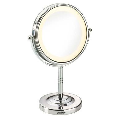 BaByliss 8435E specchietto per trucco Libera installazione Rotondo Acciaio inossidabile