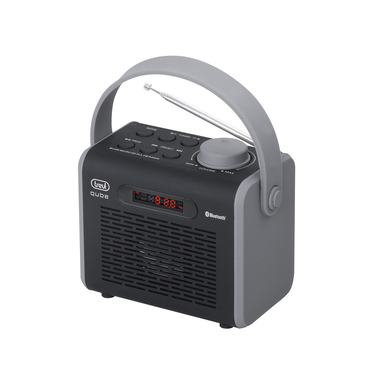 Trevi DR 752 BT radio Portatile Nero, Grigio