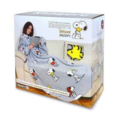 Plaid Con Maniche Dove Comprarlo.Kanguru La Coperta Deluxe Snoopy Tappeti Tessuti E Coperte In