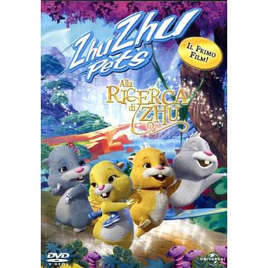 Zhu Zhu Pets - Alla ricerca di Zhu (2011), DVD