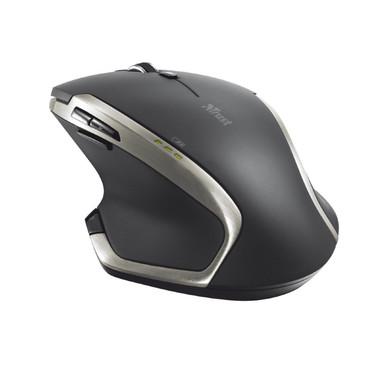 Trust Evo RF Wireless Laser 2400DPI Nero mouse