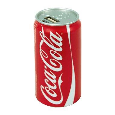 Coca Cola power bank caricabatterie portatile da 2400 mAh