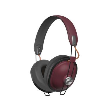 Panasonic RP-HTX80BER cuffia stereofonica Bluetooth, Borgogna