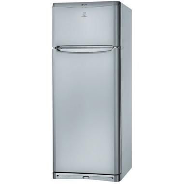 Indesit TEAAN5PS Libera installazione 419L Argento frigorifero con congelatore