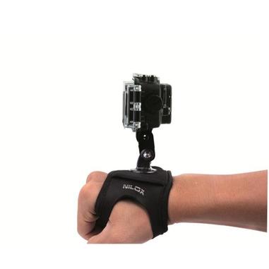 Nilox 13NXAKACEF002 Polso Passive holder Nero supporto per personal communication