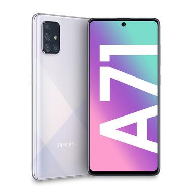 Samsung Galaxy A71 , Silver, 6.7, Wi-Fi 5 (802.11ac)/LTE, 128GB