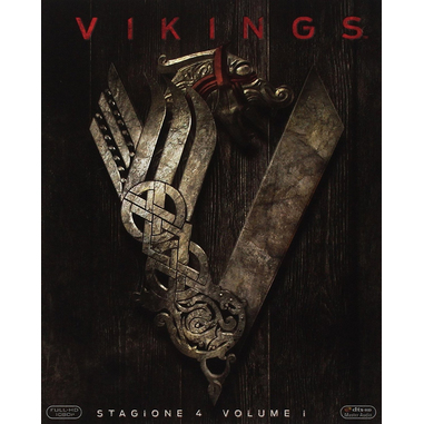 Vikings Stagione 4 - Volume 1, 3x Blu-Ray Blu-ray 2D ITA