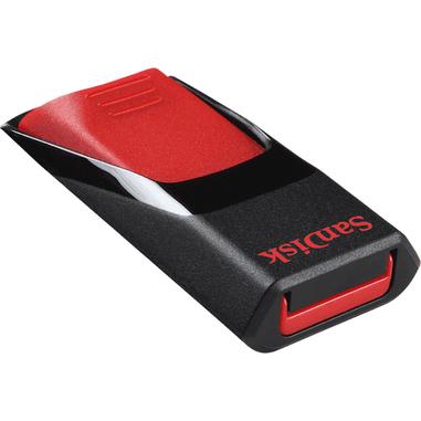 Sandisk Cruzer Edge, 8GB 8GB USB 2.0 Tipo-A Nero, Rosso unità flash USB