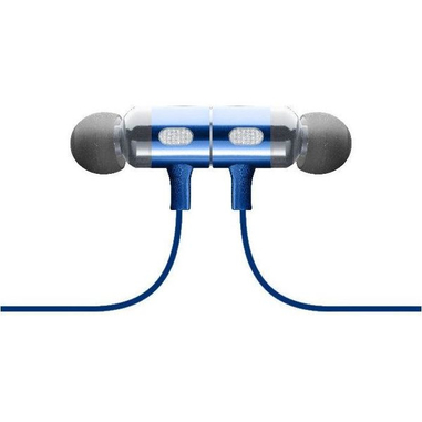 Cellularline BTMOSQUITOB Auricolare Stereofonico Senza fili Blu auricolare per telefono cellulare