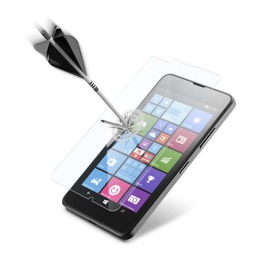 Cellularline Second Glass Ultra - Lumia 640 Vetro temperato trasparente sottile, resistente e super sensibile Trasparente