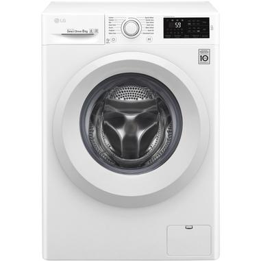 LG F4J5TN3W Libera installazione Caricamento frontale 8kg 1400Giri/min A+++-30% Bianco lavatrice