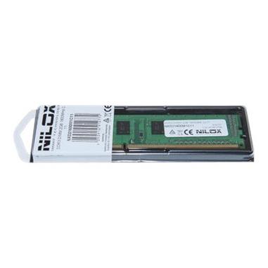 Nilox 4GB DDR3 DIMM 4GB DDR3 1066MHz memoria
