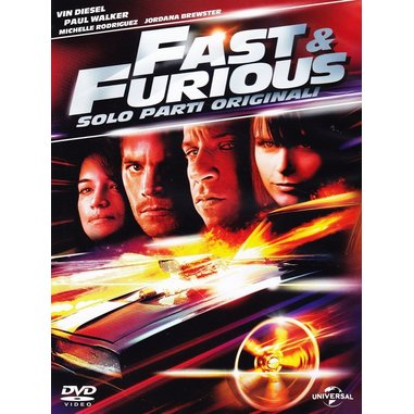 Fast and Furious - Solo parti originali (DVD)
