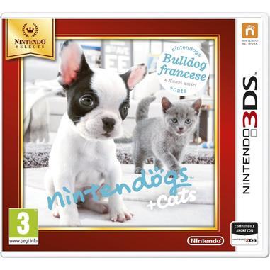 Nintendo Nintendogs + Cats: Bulldog Francese