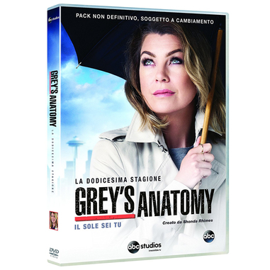 Grey's Anatomy - stagione 12 (DVD)