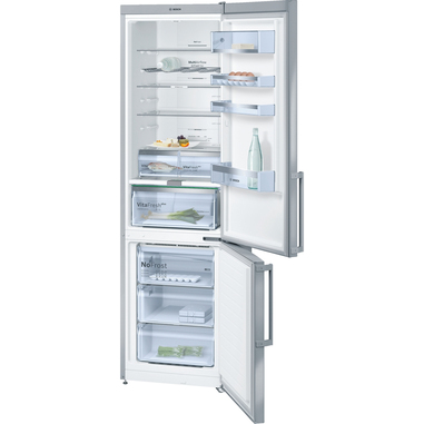 Bosch Serie 6 KGN39AI35 Libera installazione 279L 87L A++ Argento frigorifero con congelatore