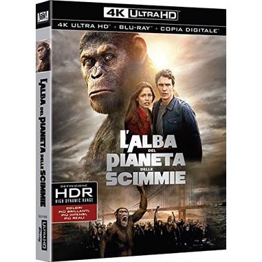 L'alba del Pianeta delle Scimmie (Blu-ray 4K)