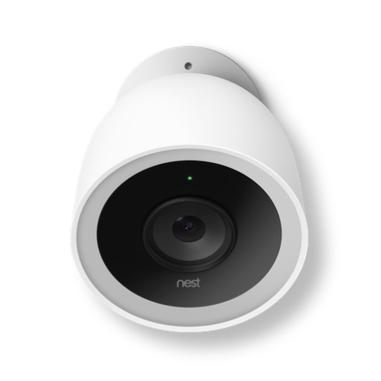 Nest Cam IQ Telecamera di sicurezza IP Esterno Bianco 1920 x 1080Pixel