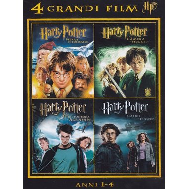 4 grandi film - Harry Potter - anni 1-4 volume 1 (DVD)