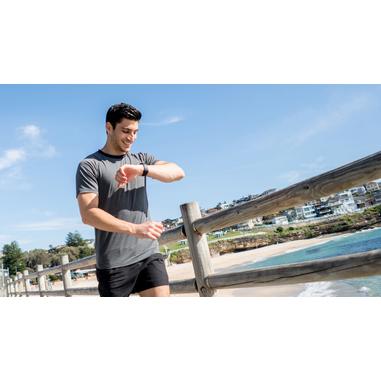 Cellularline Easy Fit Talk - Universale Fitness Tracker touch screen con Auricolare Bluetooth Mono Nero