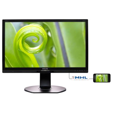 Philips Brilliance Monitor LCD con tecnologia SoftBlue 241P6EPJEB/00