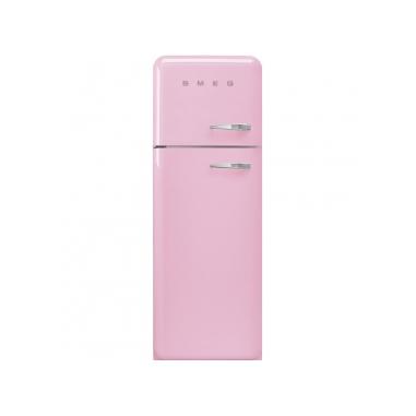Smeg FAB30LPK3 frigorifero con congelatore Libera installazione Rosa 294 L A+++