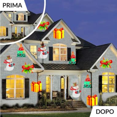 DMCshop Faretto LED per Illuminazione Decorativa Interno/Esterno Magic Mosaic LED Deluxe