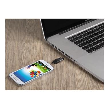 Hama 00123951 USB 2.0 Nero lettore di schede