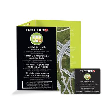 TomTom Aggiornamento mappe 12 mesi - Scratch card