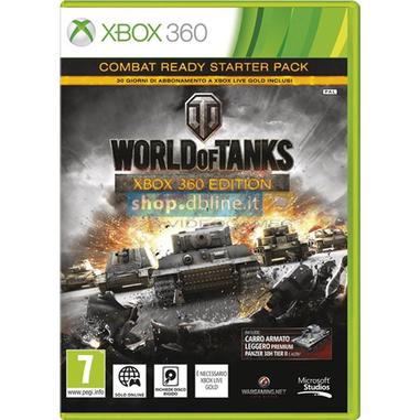 Db-Line World of Tanks, X360 Basic Xbox 360 Inglese videogioco