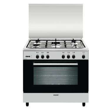 Glem AN965VI cucina Piano cottura Acciaio inossidabile Gas A