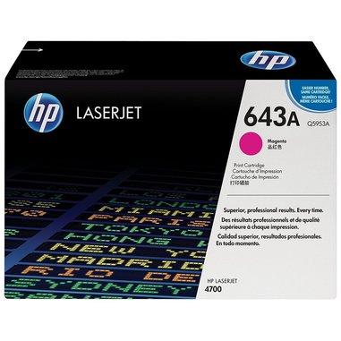 HP 643A Cartuccia laser 10000pagine Magenta