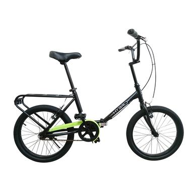 BeBikes Hybrid K Città Acciaio Nero bicicletta