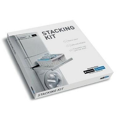 Hotpoint Kit di giunzione con ripiano estraibile per colonna bucato